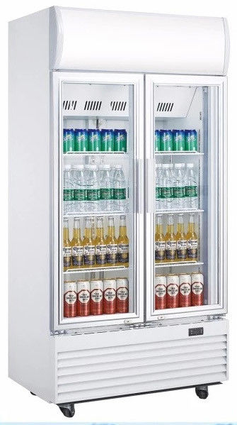 Portable Beverage Cooler Refrigerator With 610L Large Storage Space
